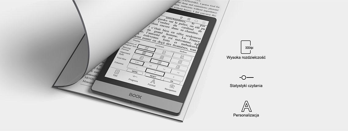 Onyx Boox Poke 2 - jak ksiązka, tylko lepszy